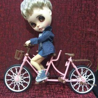 Xe đạp đôi cho búp bê