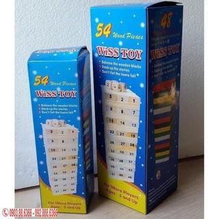 Combo 10 Bộ đồ chơi rút gỗ 54 thanh (loại to )