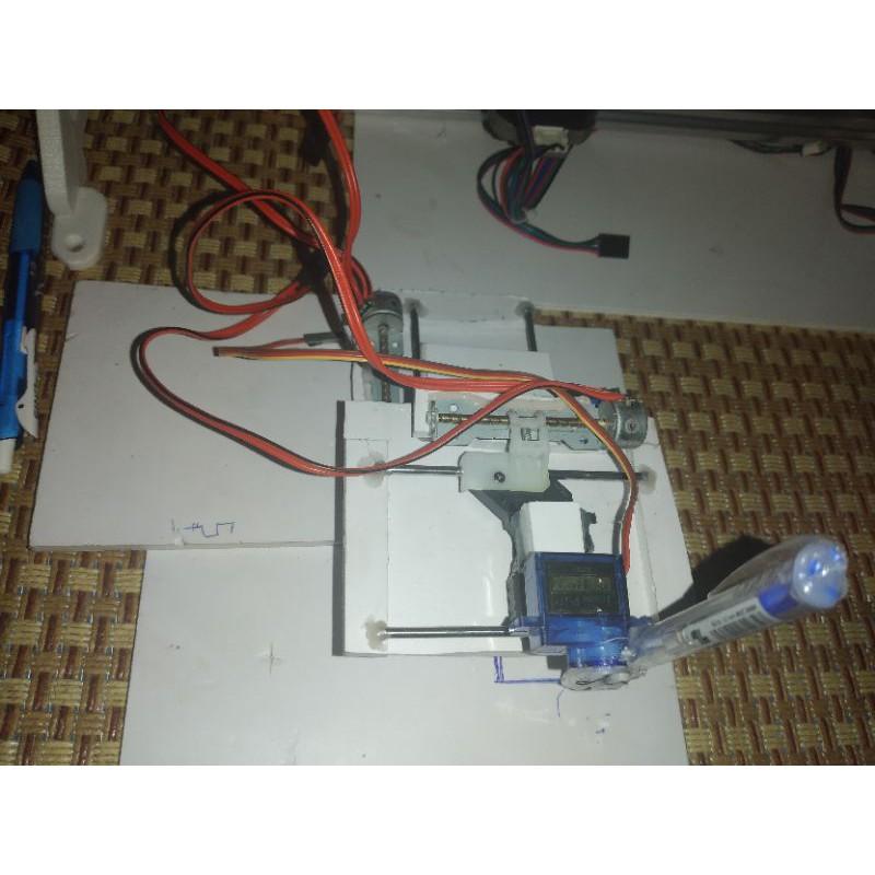 Động cơ bước mini chế máy vẽ Full phụ kiện