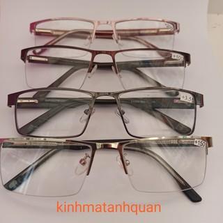 kính lão kính viễn cho người già gọng kính nhập khẩu tròng meka loại 1