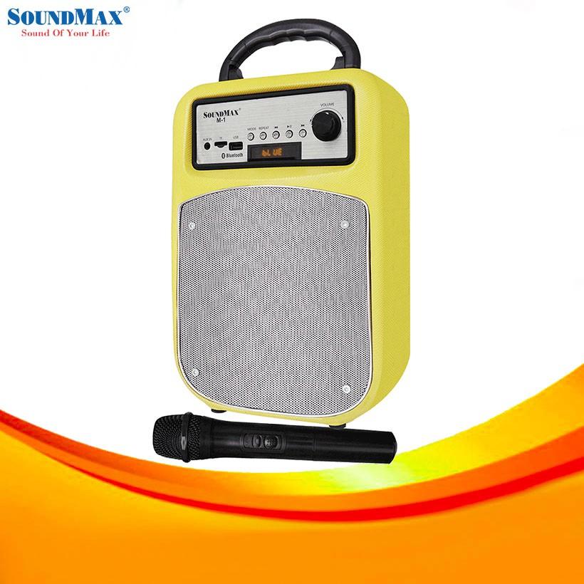LOA DU LỊCH SOUNDMAX M1 (Chính hãng phân phối) - 14212714 , 1332601574 , 322_1332601574 , 1590000 , LOA-DU-LICH-SOUNDMAX-M1-Chinh-hang-phan-phoi-322_1332601574 , shopee.vn , LOA DU LỊCH SOUNDMAX M1 (Chính hãng phân phối)