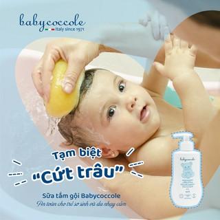 Hình ảnh Sữa tắm gội cho bé Babycoccole 0M+ an toàn cho trẻ sơ sinh & em bé chiết xuất hoa sen 250ml/400ml-3