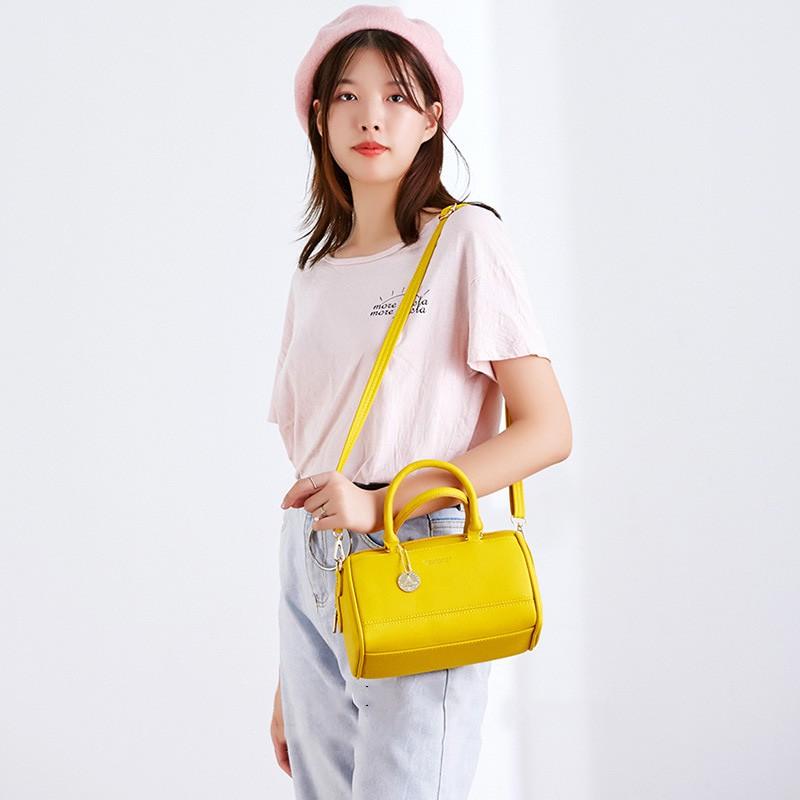 Túi đeo chéo nữ dễ thương da mềm PIERRE LOUES nhỏ đi chơi cá tính TX494