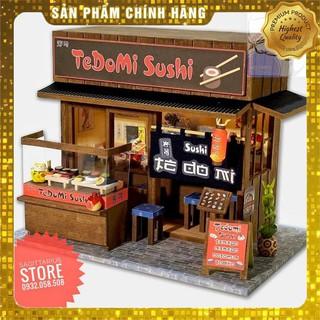 [Hot] Mô Hi nh Lă p Ra p Qua n Sushi Tedomi Nhâ t Ba n - QA01 ( Tă ng Keo Siliglue 30Ml ) [ Co Să n ]