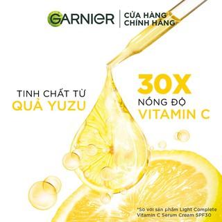 Hình ảnh [Mã FMCGMALL - 8% đơn 250K] Tinh chất tăng cường sáng da mờ thâm Garnier 30ml-2