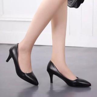 💥 NHẬP FSE3994 HOÀN 10K XU - Giày nữ cao gót trơn công sở siêu chất