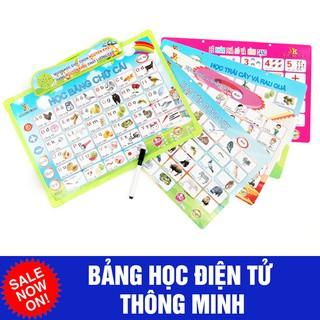[Nhập mã TOY11FES10 giảm 10%]Bảng học điện tử thông minh 6 chủ đề Anh- Việt cho bé