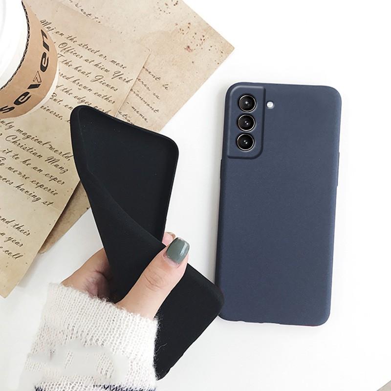 Ốp điện thoại nhám chống rơi cho Samsung Galaxy S21 S21 Plus Ultra 5G