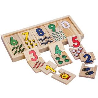 Bộ Ghép học Số Montessori phạm vi 10 số