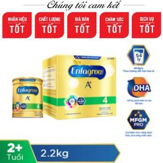 BỘ SẢN PHẨM Sữa bột Enfagrow A+ 4 (hộp 2.2kg – 4 túi thiếc 550g)