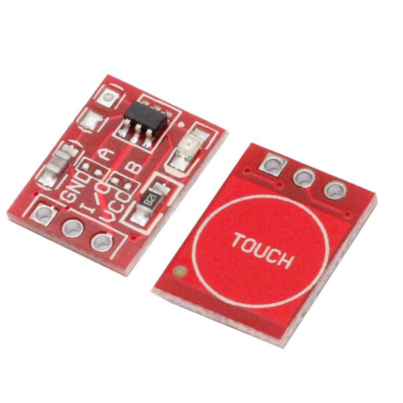 Phím Cảm Ứng 1 Chạm Điện Dung TTP223B Mini