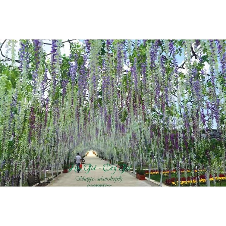 Hoa giả - Hoa Tử Đằng chiều dài 110cm
