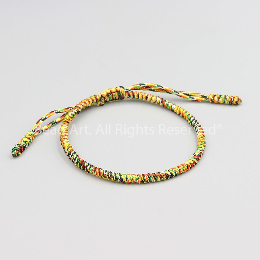 Vòng Tay Dây Ngũ Sắc Phong Cách Tibet Handmade (NGŨ SẮC
