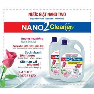Nước giặt NANO Suzy Nhật Bản 4kg – thành phần hữu cơ