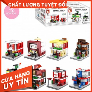 [FREESHIP]Đồ chơi Lego Sembo Block No.6608-6615