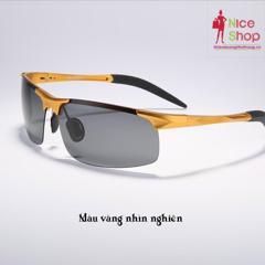 Mắt kính thể thao gọng nhôm mạnh mẽ - MK0031