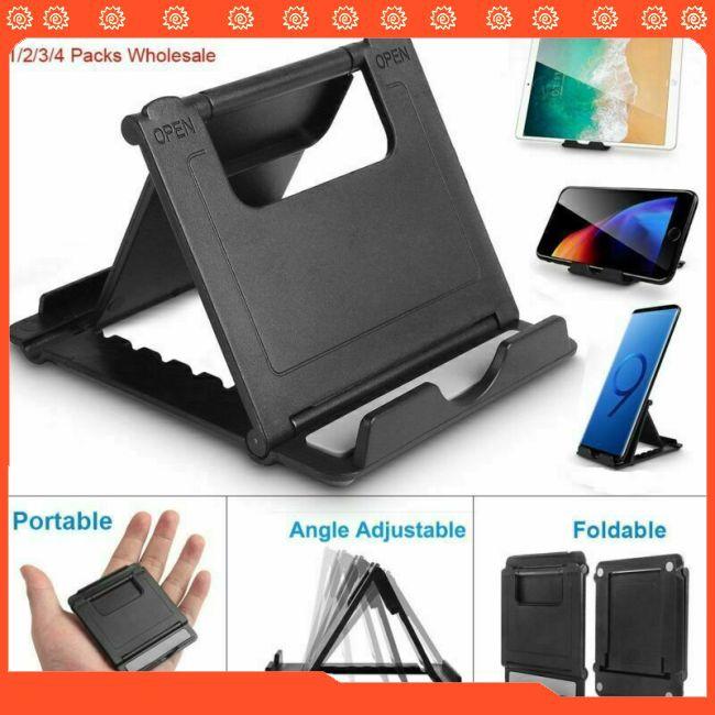 Portable Adjustable Folding Desk Table Stand Holder for Mobile Phone Tablet PC