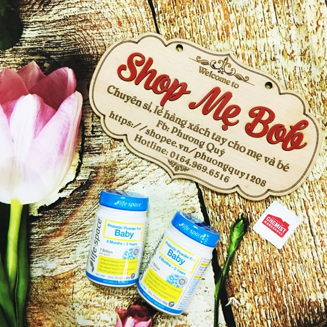 Men vi sinh Probiotic powder For Baby 0-3 tuổi