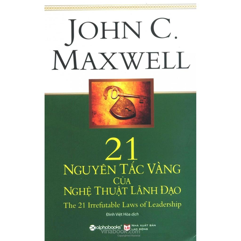 [Sách Thật] 21 Nguyên Tắc Vàng Của Nghệ Thuật Lãnh Đạo - John C. Maxwell - 2690724 , 345716693 , 322_345716693 , 99000 , Sach-That-21-Nguyen-Tac-Vang-Cua-Nghe-Thuat-Lanh-Dao-John-C.-Maxwell-322_345716693 , shopee.vn , [Sách Thật] 21 Nguyên Tắc Vàng Của Nghệ Thuật Lãnh Đạo - John C. Maxwell