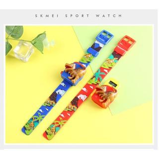 Đồng hồ trẻ em Skmei điện tử SK 1468 khủng long (2 màu tùy chọn)