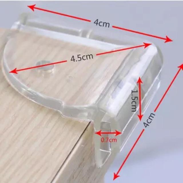 Miếng chặn bo góc bàn/tủ chống va đập cho bé