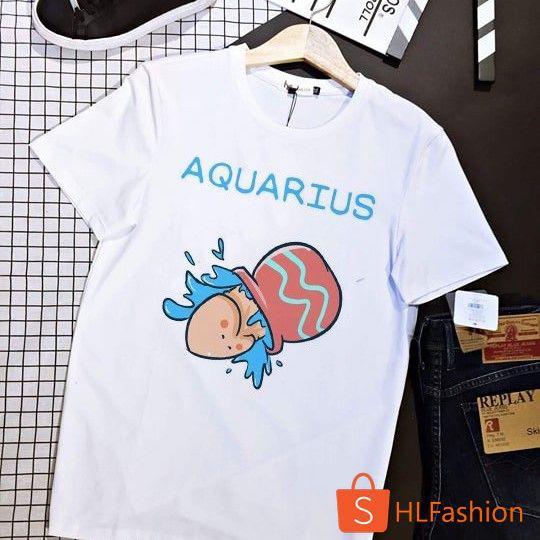 Áo thun Ciu Ciu - Cung Bảo Bình (Aquarius) siu cute unisex