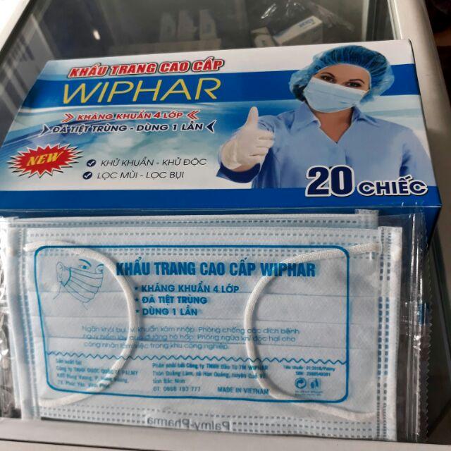 Khẩu trang tiệt trùng 4 lớp màu xanh đóng túi - 2617209 , 470542680 , 322_470542680 , 30000 , Khau-trang-tiet-trung-4-lop-mau-xanh-dong-tui-322_470542680 , shopee.vn , Khẩu trang tiệt trùng 4 lớp màu xanh đóng túi