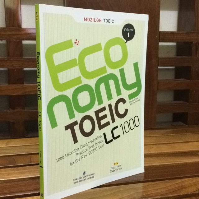 Economy Toeic LC 1000 -volume 1 ( giá bìa 168.000 đ) sách đẹp