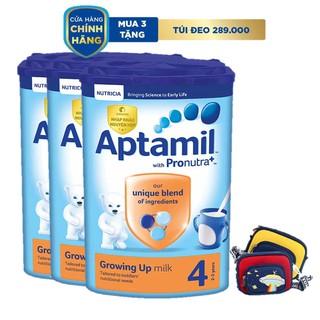 """Combo 3 hộp sữa bột Aptamil Anh số 4 (800g/hộp) + Tặng túi đeo khám phá giá chỉ còn <strong class=""""price"""">135.810.000.000đ</strong>"""