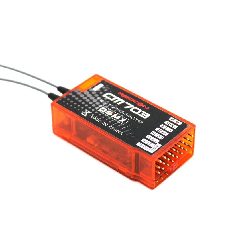 REDCON CM703 2.4G DSM2 DSMX Receiver W/ PPM Output Toys Practical Safe