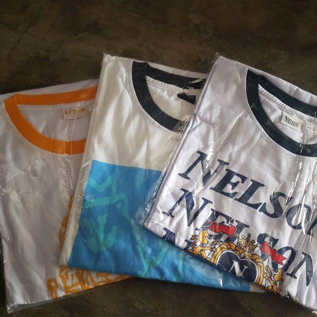 Combo 3 áo thun size lớn cho người trung niên