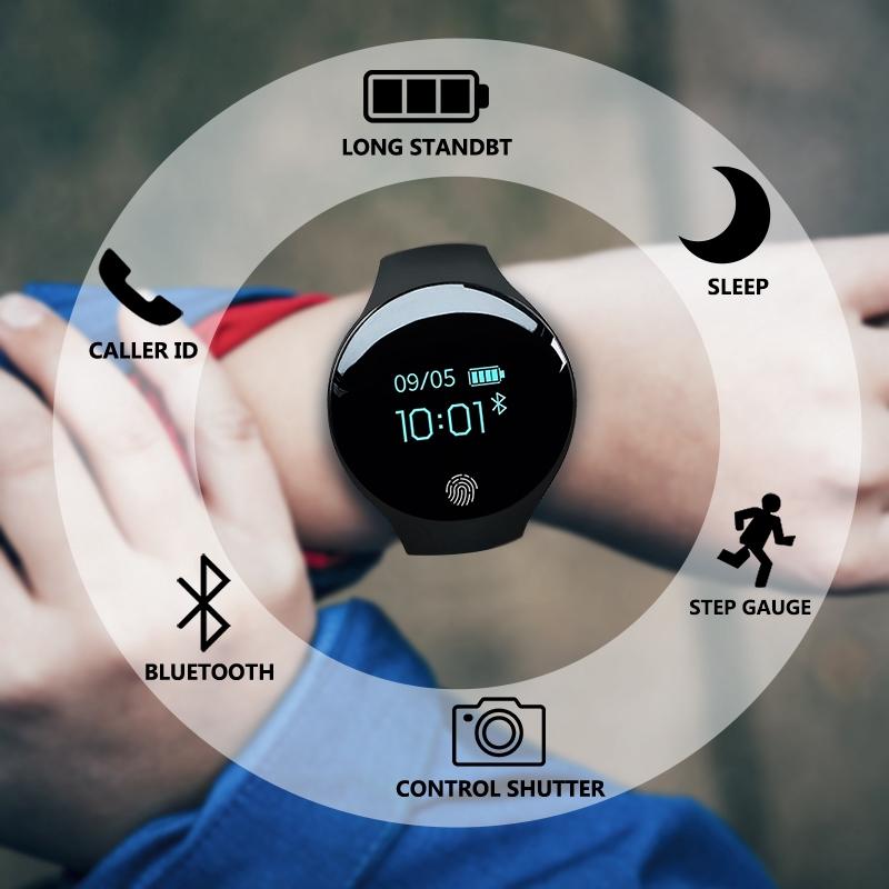 Đồng hồ thông minh thể thao cảm ứng chuyển động cho iOS Android