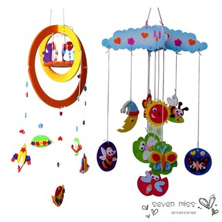 DIY Handmade EVA Craft Toy kits Windbell Hangings Stickers Educational Toys [NF]