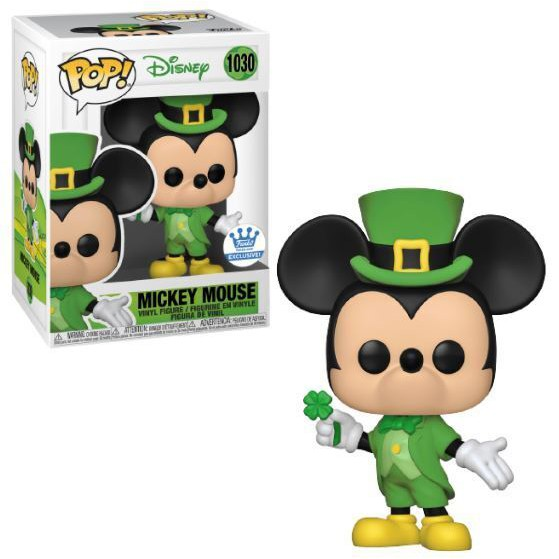 Đồ chơi mô hình funko pop 1030 Mickey Mouse (St. Patrick's Day) – Disney