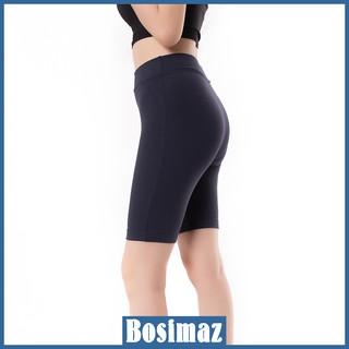 Quần Legging Nữ Bosimaz MS352 ngắn không túi màu xanh navy cao cấp, thun co giãn 4 chiều, vải đẹp dày, thoáng mát. thumbnail