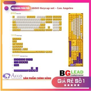 [Sản phẩm mới]Bộ keycap cho bàn phím cơ AKKO Keycap set Los Angeles (PBT Double-Shot ASA profile 158 nút) thumbnail