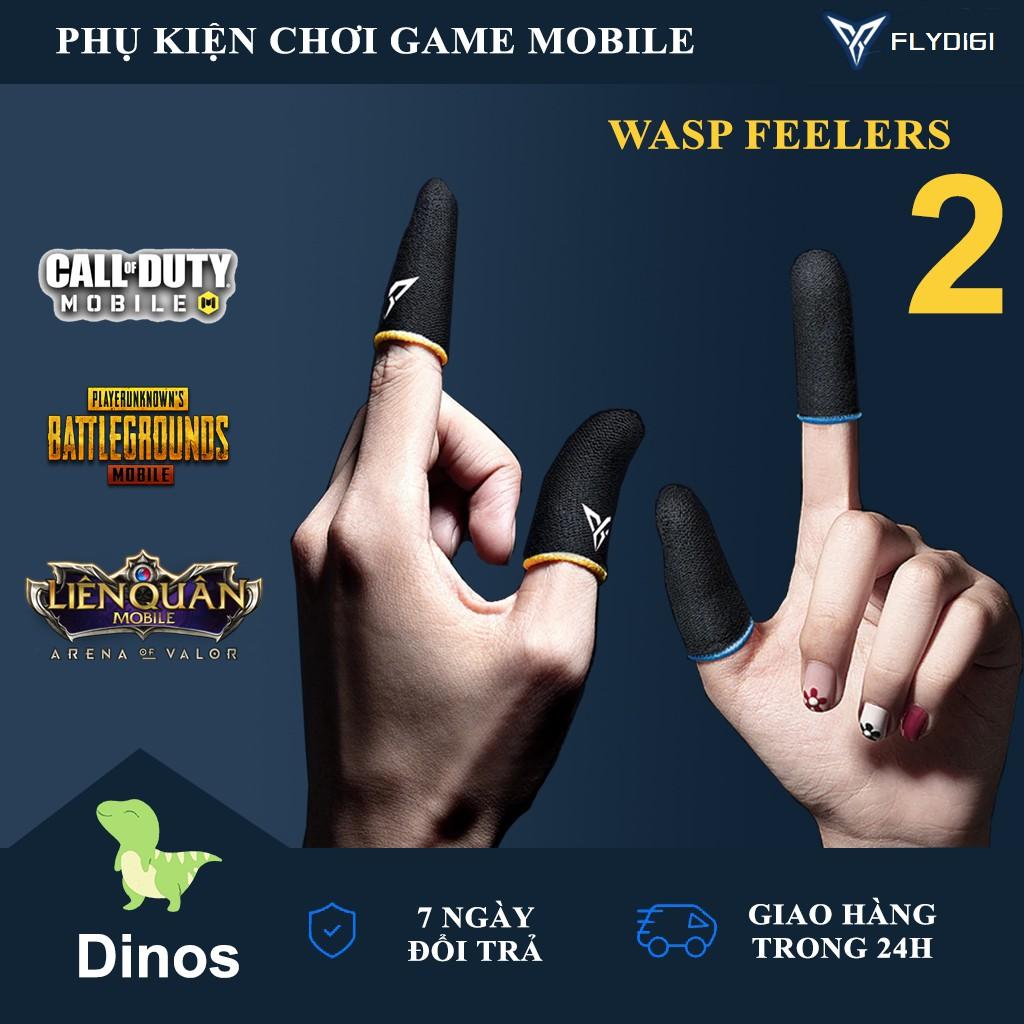 [ PHIÊN BẢN MỚI ] Flydigi Wasp Feelers 2   Găng tay chơi game PUBG, Liên quân, chống mồ hôi, cực nhạy, co giãn cực tốt