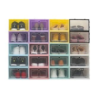 [THANH LÝ] Hộp đựng giày, hộp nhựa đựng giày nắp nhựa cứng siêu chịu lực
