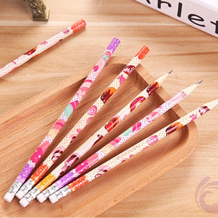 [Deal] Bút chì kèm tẩy cute dễ thương