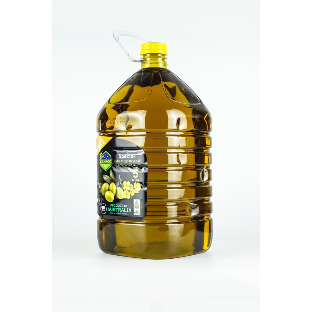 Dầu Olive hạt cải chiên xào Kankoo 5L