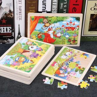 [Giá Hủy Diệt ] Xếp hình gỗ Puzzle 24 miếng ghép Hàng Loại 1