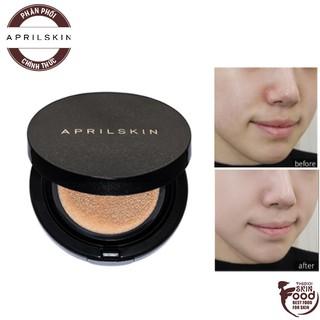 Phấn Nước Che Phủ Tốt, Dưỡng Ẩm Cho Lớp Nền Hoàn Hảo April Skin Magic Snow Cushion Galaxy Edition SPF50+ PA+++ 15g thumbnail