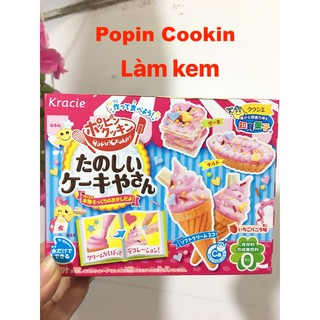 Popin Cookin Bộ Làm Kem- Đồ Chơi Nấu Ăn Tự Làm Bánh Nhật Bản