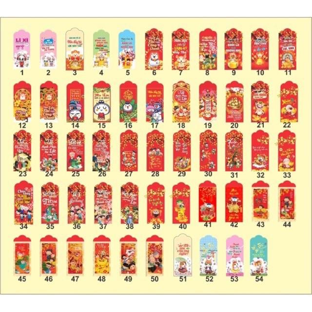 Bao Lì Xì 1000 cái hơn 50 Mẫu Ngẫu Nhiên - 21861107 , 5010242036 , 322_5010242036 , 470000 , Bao-Li-Xi-1000-cai-hon-50-Mau-Ngau-Nhien-322_5010242036 , shopee.vn , Bao Lì Xì 1000 cái hơn 50 Mẫu Ngẫu Nhiên