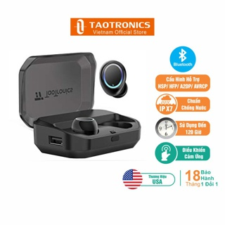 """Tai Nghe TaoTronics EarBud Bluetooth Chống Nước IPX7 120 Giờ Sử Dụng TT-BH052 giá chỉ còn <strong class=""""price"""">81.000.000.000đ</strong>"""