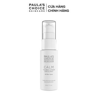 Loại bỏ tế bào chết dịu nhẹ Paula s Choice Calm 1% BHA Lotion Exfoliant 30ml Mã 9107
