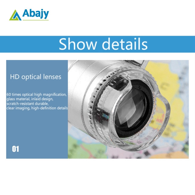 Mobile Phone Microscope Macro Lens 60X Optical Zoom Magnifier Micro Camera Universal Clip for