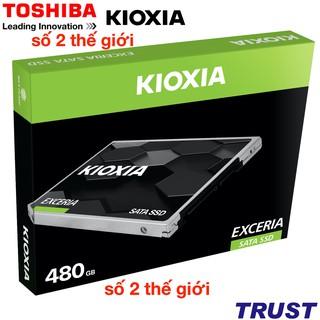 [Mã ELMS05 giảm 5% đơn 300K] Ổ cứng SSD Kioxia (Toshiba) Exceria SATA 3 2.5 inch - 240GB,480GB-Chính Hãng FPT