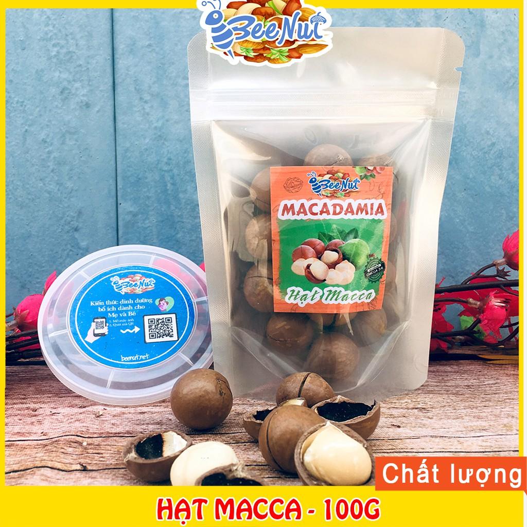 [100g] Hạt Macca (Có tặng dụng cụ tách vỏ) - Hạt to, đều - Chất lượng Macca Úc