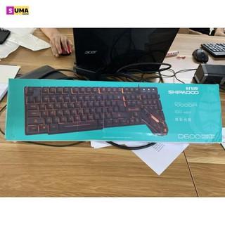 Bộ bàn phím cơ và chuột game thủ Led 7 màu NN